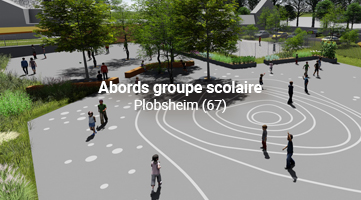 Abords groupe scolaire