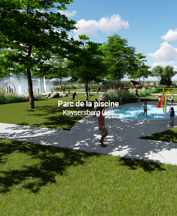 Parc de la piscine