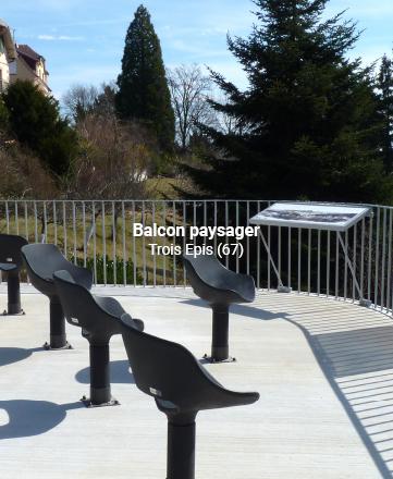 Balcon paysager